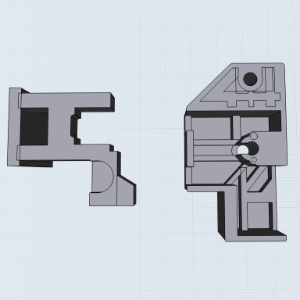 3D models with the original lines still visible.